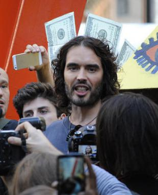 Picture of quotation author Russell Brand