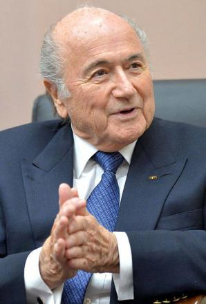 Picture of quotation author Sepp Blatter