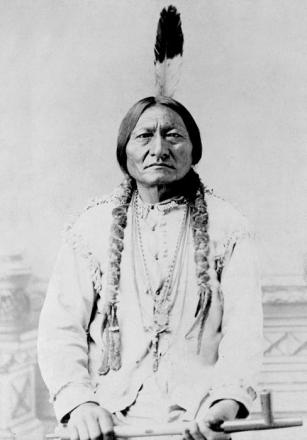 Picture of quotation author Sitting Bull