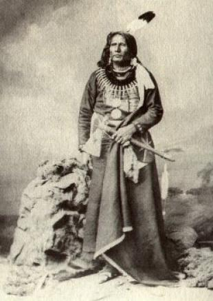Picture of quotation author Standing Bear