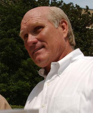 Picture of quotation author Terry Bradshaw