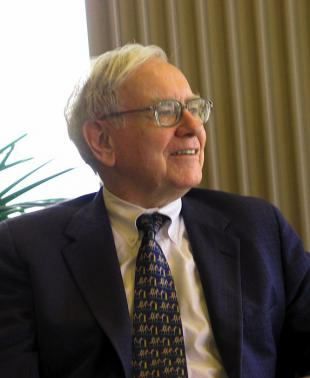 Picture of quotation author Warren Buffett