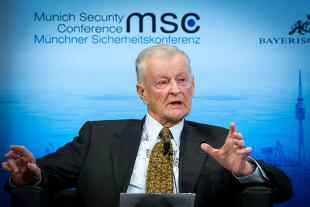 Picture of quotation author Zbigniew Brzezinski