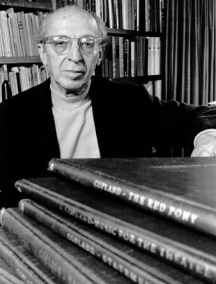 Picture of quotation author Aaron Copland