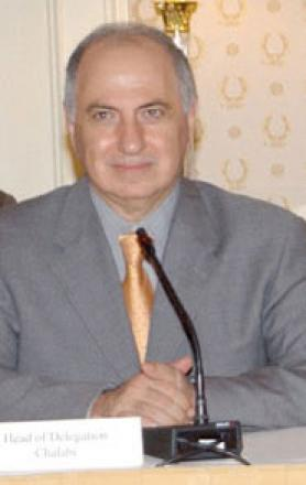 Picture of quotation author Ahmed Chalabi