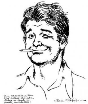 Picture of quotation author Al Capp