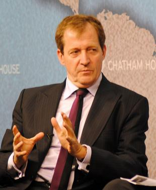 Picture of quotation author Alastair Campbell