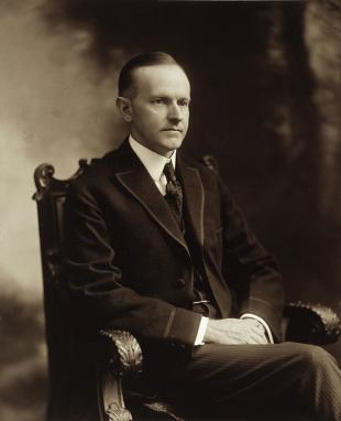 Picture of quotation author Calvin Coolidge