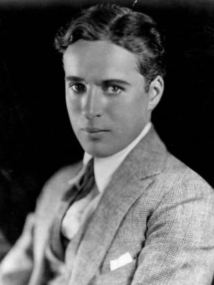 Picture of quotation author Charlie Chaplin