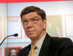 Picture of quotation author Clayton Christensen