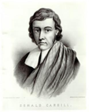 Picture of quotation author Donald Cargill