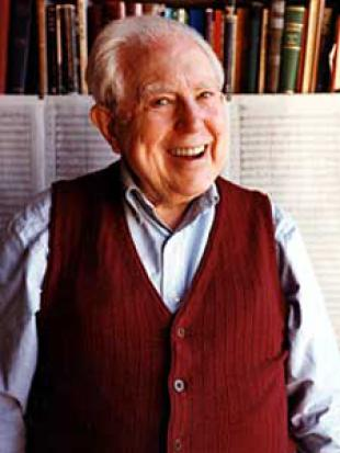 Picture of quotation author Elliott Carter