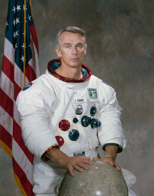Picture of quotation author Eugene Cernan