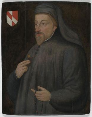 Picture of quotation author Geoffrey Chaucer