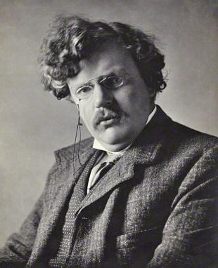 Picture of quotation author Gilbert K. Chesterton