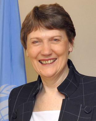 Picture of quotation author Helen Clark