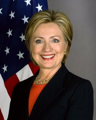 Picture of quotation author Hillary Clinton