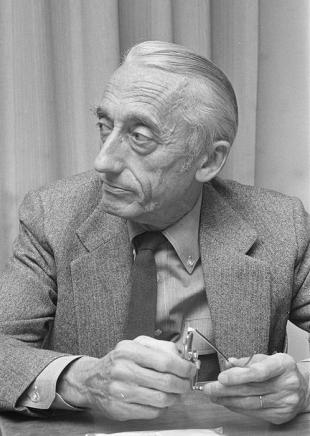 Picture of quotation author Jacques Yves Cousteau