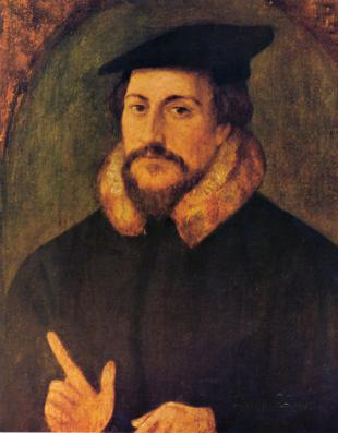 Picture of quotation author John Calvin