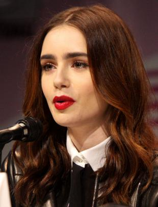 Picture of quotation author Lily Collins