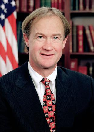 Picture of quotation author Lincoln Chafee