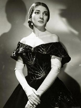 Picture of quotation author Maria Callas