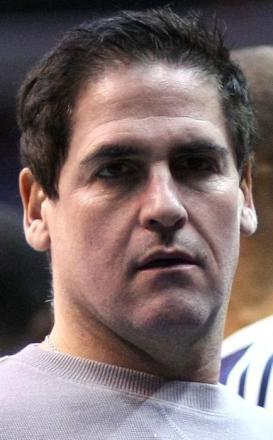 Picture of quotation author Mark Cuban
