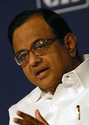 Picture of quotation author P. Chidambaram