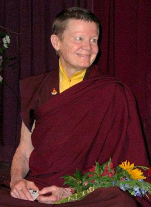 Picture of quotation author Pema Chodron