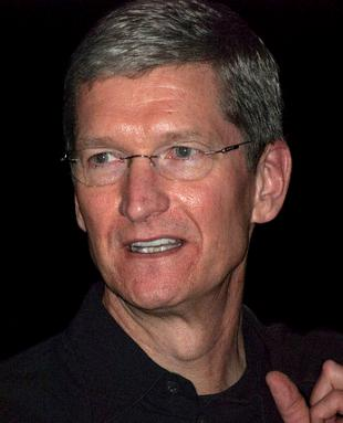 Picture of quotation author Tim Cook