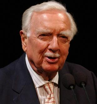 Picture of quotation author Walter Cronkite