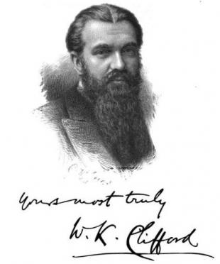 Picture of quotation author William Kingdon Clifford