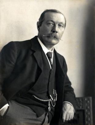 Picture of quotation author Arthur Conan Doyle
