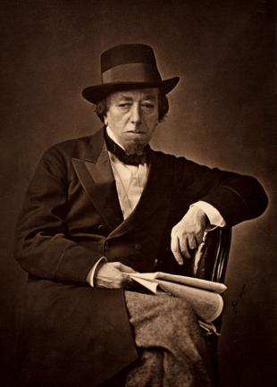 Picture of quotation author Benjamin Disraeli