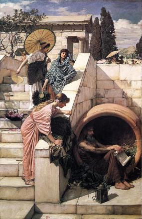 Picture of quotation author Diogenes