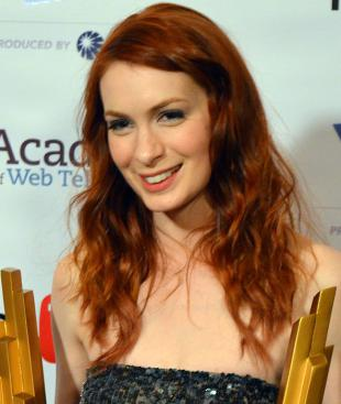 Picture of quotation author Felicia Day