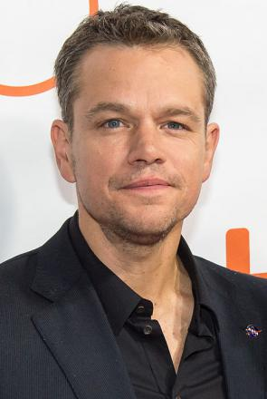 Picture of quotation author Matt Damon