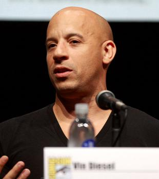 Picture of quotation author Vin Diesel