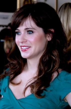 Picture of quotation author Zooey Deschanel