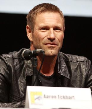 Picture of quotation author Aaron Eckhart