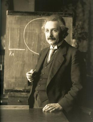 Picture of quotation author Albert Einstein