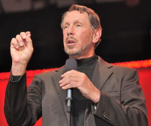 Picture of quotation author Larry Ellison