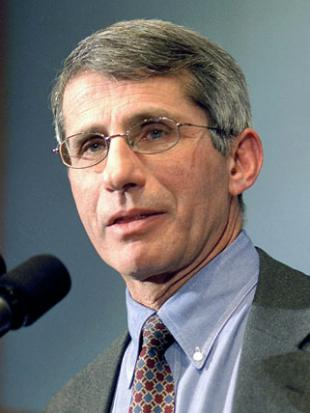 Picture of quotation author Anthony Fauci