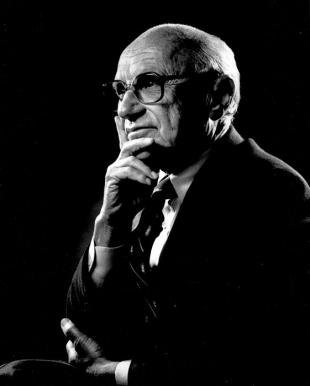 Picture of quotation author Milton Friedman