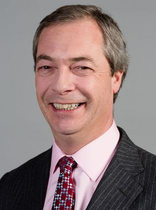 Picture of quotation author Nigel Farage
