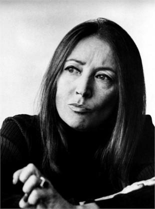 Picture of quotation author Oriana Fallaci