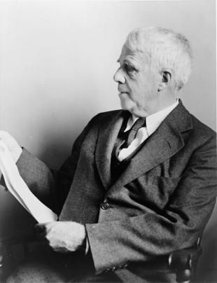 Picture of quotation author Robert Frost
