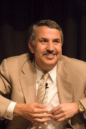 Picture of quotation author Thomas Friedman