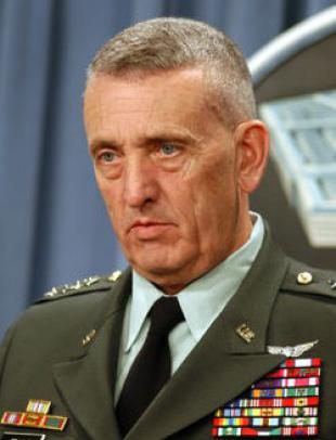 Picture of quotation author Tommy Franks