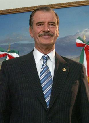 Picture of quotation author Vicente Fox